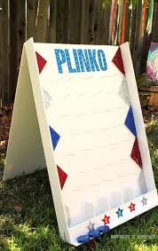 Jim Can Build Making It Plywood Instead Of Cardboard DIY Backyard Plinko Party Game