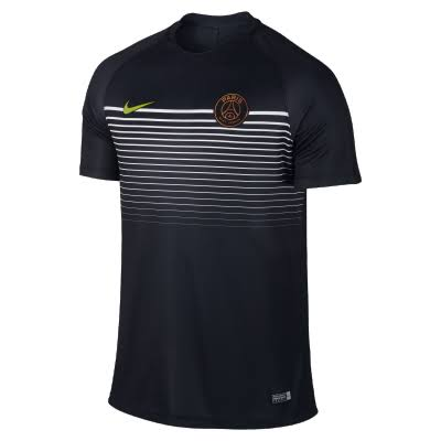 Nike Paris Saint-Germain SS Squad Top - Black