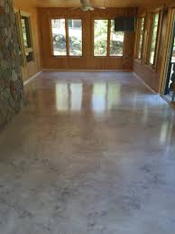 Rust Oleum Decorative Concrete Coating Slate by Metallic Epoxy Floor Coating With Satin Non Slip Finish By Sierra