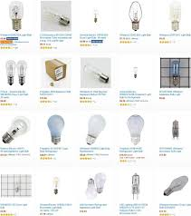 light bulb refrigerator light bulbs appliance light bulbs oven