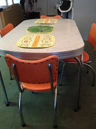 Found On Craigslist! 1950s Chromcraft Dinette/Kitchen Table ... Chromcraft Core C318 Swivel Tilt Caster Arm Chair Tilt Caster Ding Chairs By Castehaircompany C Etteding Table And 6 C177 Chromcraft Ding Room Set Table Chairs Black Chrome Craft Sculpta Set 1960s Sets With Casters Insidtiesorg Inspirational Fniture Kitchen Wheels Home Design Dingoom Il Fxfull Sets With Rolling Modern Indoor Corp 1969 Dinette On Chairishcom In 2019