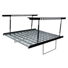 Hyloft Ceiling Storage Unit Instructions by Kobalt Metal Overhead Storage Kit Industrial Duty Holds Up To 500