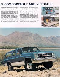 1983 Chevrolet And GMC Truck Brochures / 1983 GMC Suburban-03.jpg 1983 Gmc Ck 3500 Series Overview Cargurus Caballero Chevrolet El Camino Factory 57 Diesel No Ebay Sierra 1500 Sierra Reg Cab Completely Filegmc Classic Regular Cabjpg Wikimedia Commons S15 Pickup Truck Item H2412 Sold Octobe Car Shipping Rates Services Pickup C1500 Gm Square Body 1973 1987 S285 Indy 2011 Amazoncom High Truck Original Photo Preserved Plow 24 Gruman Step Van Food Youtube