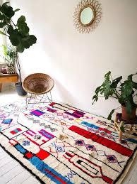 azilal teppich berber teppich bunt marokkanisch 1250 in