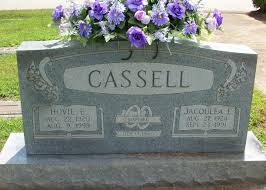 Hovie Edward Cassell 1920 1999 Find A Grave Memorial