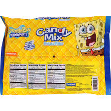 Spongebob Halloween Dvd Walmart by Nickelodeon Spongebob Squarepants Piñata Filler Candy Mix 14 1