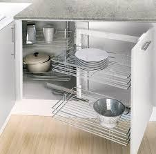 rangement d angle cuisine d angle avec 4 paniers fil chromé brico dépôt