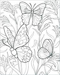Butterfly Coloring Pages Butterflies Also Printable Games Butt Monarch