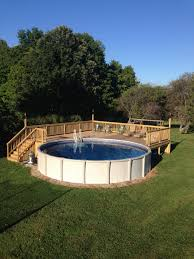 40 Uniquely Awesome Ground Pools with Decks