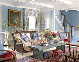 Attractive Decor Country Style Room Full Size