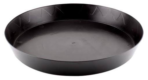 "Gro Pro Garden Products Plant Saucer - 14"", Black"