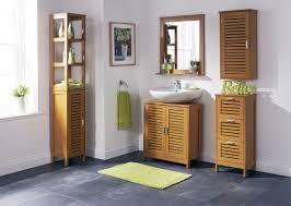 Teak Bathroom Shelving Unit by Modern Ceramic Bathroom Warm Home Design