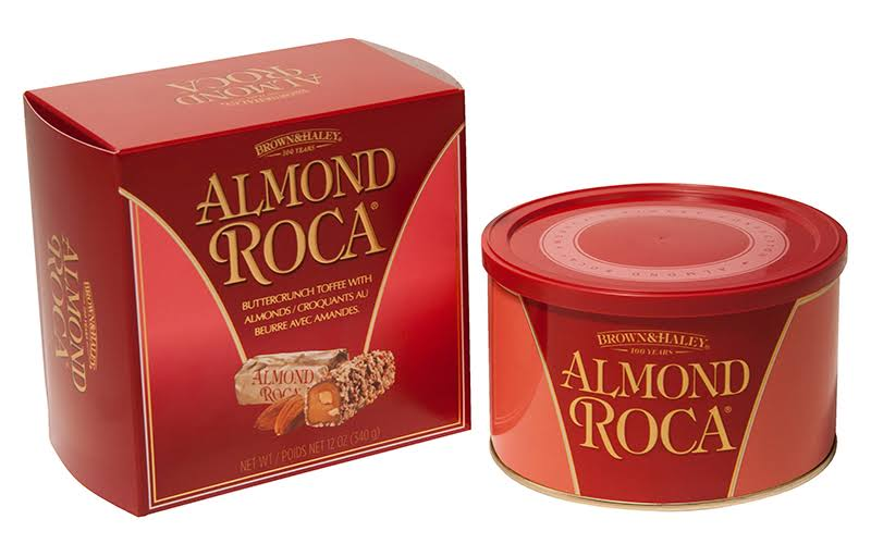 Brown and Haley Almond Roca in Gift Tin - 340g