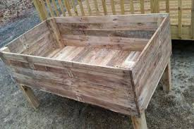 Recycled Pallet Garden Planter Boxes Furniture Plans
