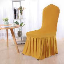 Uxcell Stretch Spandex Round Top Dining Room Chair Covers Long Ruffled  Skirt Slipcovers For Shorty Chair Seat Covers Dark Yellow 1pc Uxcell Stretch Spandex Round Top Ding Room Chair Covers Long Ruffled Skirt Slipcovers For Shorty Seat Dark Yellow 1pc How To Make Ding Chair Slipcovers Tie On With Ruffpleated Skirt Kitchen Covers Sale Flowers Kitchen Us 418 45 Offsolid Cover Elastic Seats Slipcover Removable Washable For Wedding Banquet Hotel Partyin Mrsapocom Bm Antidirty Decor A Hgtv Best Parson Chairs Create Awesome Home Stretchy Thicken Plush Short Protector Beautiful Linen 4 Sided Ruffle Large Off White Dcor