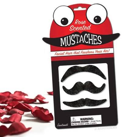 Accoutrements Scented Mustaches - Rose Scent