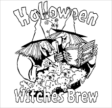 Free Halloween Witches Coloring Page For You