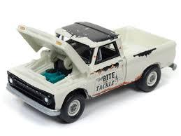 1965 Chevrolet Pickup Truck Light Cream With Mastercraft Boat