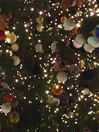 Close Up Of The 2017 Vatican Christmas Tree Showing A Yin Yang Symbol Dr Robert Moynihan
