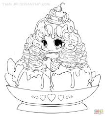 Anime Girl Coloring Pages Girls Free Of Animals