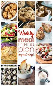 Weekly Meal Plan Week 30 Diethood