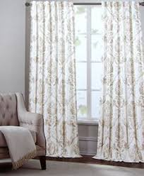 nicole miller marchesa paisley medallion pair of curtains in grey