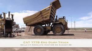 100 End Dump Truck CAT 777B Sells No Reserve At Public Auction YouTube