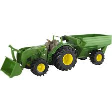 100 John Deere Toy Trucks Tomy Monster Treads Tractor With Wagon Cars