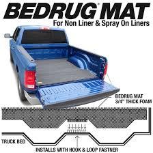 100 Truck Mat BEDRUG 58FT TRUCK Bed 0718 Chevy Silverado GMC Sierra 1500