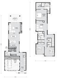 100 Narrow Lot Design Cool Modern House Plans Small Architectures S