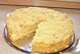 apfelstreuselkuchen mit pudding