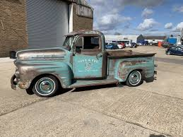 100 Ford Unibody Truck For Sale 1951 F100 Ex Wheeler Dealer Truck Car And Classic