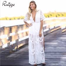 popular maxi white lace dress buy cheap maxi white lace dress lots