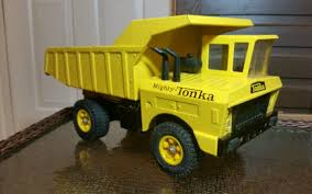 Http://www.ebay.com/itm/TONKA-vintage-early-mighty-dump-truck ... Toy Review Of Tonka Classics Mighty Steel Dump Truck Youtube Toys Shopswell Steel Classics Dump Truck 1874196098 Funrise Fire Buy Online At The Nile Classic Back Hoe Cars Trucks Planes Find More Great Shape For Backhoe Cstruction Wwwkotulas Dozer Mighty Vintage Mighty Tonka Yellow Metal Cstruction Dump Truck Xmb 975 Ford L8000 Or 10 Yard Rental With Largest Also F550 For Ebay
