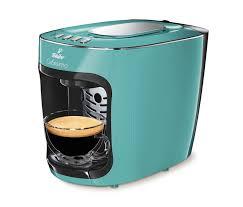 Tchibo Coffee Maker Cafissimo Mini Blazing Mint Espresso Capsule Machine On