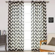 Sears Blackout Curtain Liners by Elrene Home Elrene Essex Grommet Linen Panel