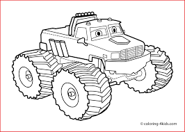 Monster Truck Drawing 146492 Monster Truck 30 Transportation ...