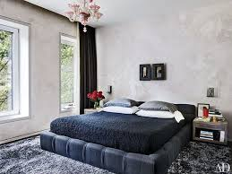 In The Master Suite Mark Mennin Sculptures Hang Above A Patricia Urquiola For BB Italia