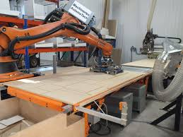 a cabinetmaker and his robot woodworking network