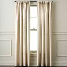 Jcpenney Traverse Curtain Rod by Jcpenney Curtains Living Room And Prelude Pinch Pleat Curtain