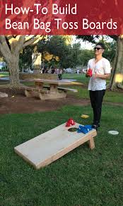 How To Build A Bean Bag Toss Board