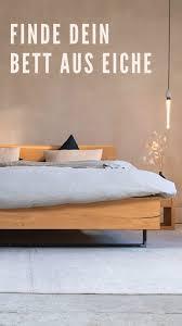 eichenbett im modernen look jetzt entdecken satamo