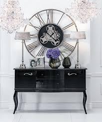 schwarze designer wohnzimmer kommode sideboard anrichte kommoden schrank holz