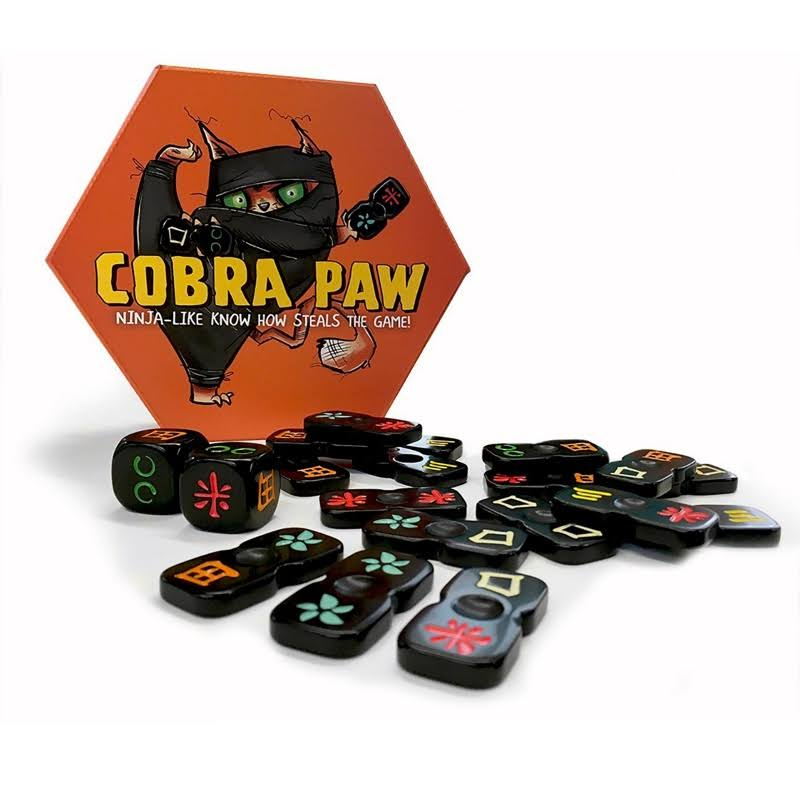 Bananagrams Cobra Paw the Ninja Tile Game