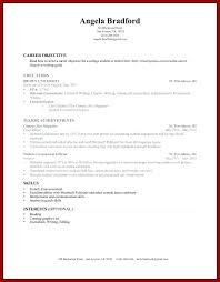 Resume Template For College Student Examples Students With Little Experience