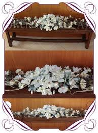 Silk Magnolia And Vine Rustic Wedding Garland For Hire Melbourne Decorations