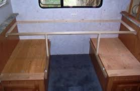 Creating An RV Desk Out Of Dinette