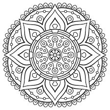 Mandala Coloring Pages Mandalas For The Soul