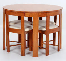 Requiredgoods Compact Dining Table With Chairs, Dining Table ...