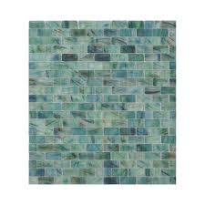 american olean mosaic tile shop american olean visionaire peaceful sea brick mosaic glass